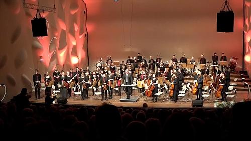 Jugendsinfonieorchester beim Neujahrskonzert,  Potsdam (2018)