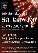 Flyer 50 Jahre JSO